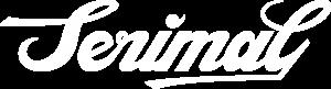 serimal logo lettering